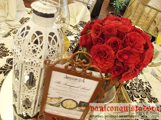 The Inaugural Feast: A MALOLOS HERITAGE CUISINE at Ilustrado Restaurant