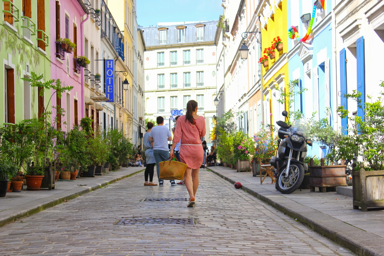 Rue Crémieux a Parigi - foto di Elisa Chisana Hoshi