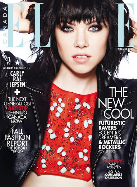 Singer @ Carly Rae Jepsen - Elle Canada, August 2015