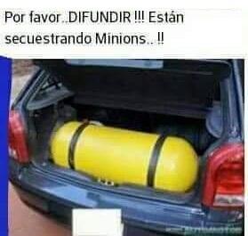 secuestrando minions