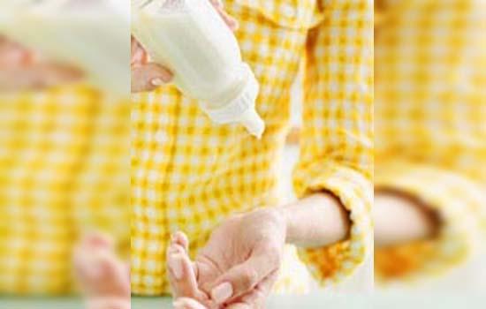 Cara sebenar penyediaan susu anak