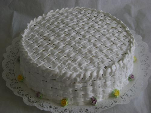 merengue clásico para decorar tortas | ricomix