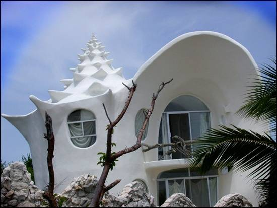 Conch-Shell-House-Isla Mujeres-Mexico