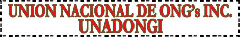 Union Nacional de ONG Incorporadas UNADONGI