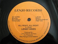Lenny Hines - All Right, All Night 1980s