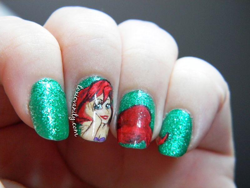 Manicura de La Sirenita | Summer Nails - Toxic Vanity
