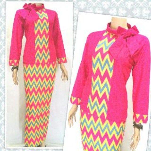 Model Baju Batik Wanita Terbaru 2016