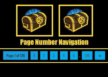 Page Number Navigation