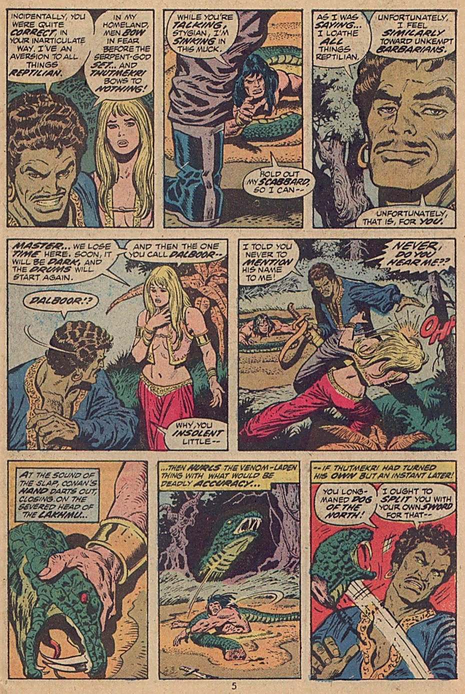 Conan the Barbarian (1970) Issue #28 #40 - English 5