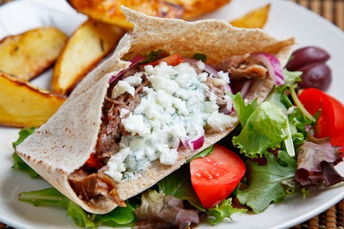 Roast Lamb Gyros