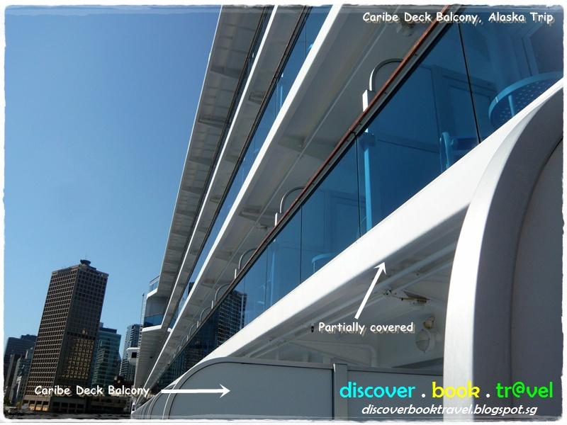 Day 1 diamond princess alaska cruise oceanview double for Balcony origin