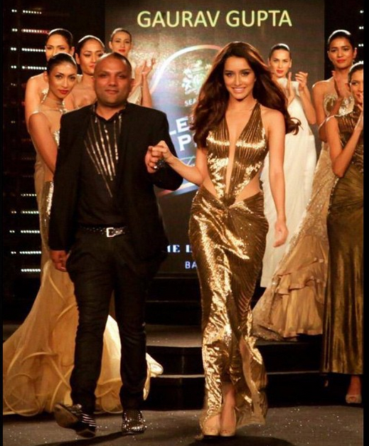 Shraddha Kapoor the showstopper for Gaurav Gupta