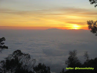 wisata bukit panderman, rute wisata, sunrise di panderman, hiking panderman