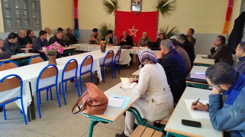 دورة تكوينية في المسرح المدرسي بنيابة سيدي بنور