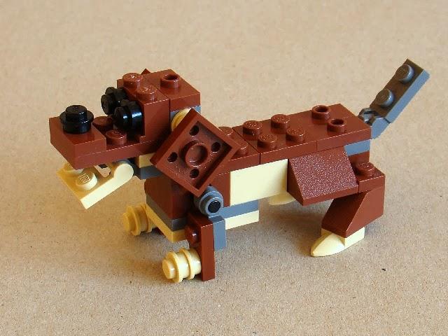 How To Make A Lego Dog