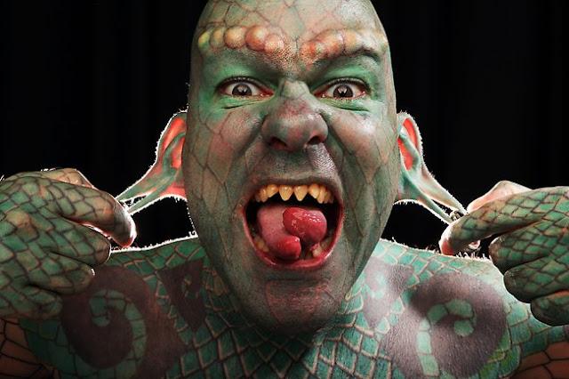 The Lizardman orang paling gila dalam hidupnya-1