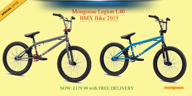 2015 BMX Bike: Mongoose Legion L40