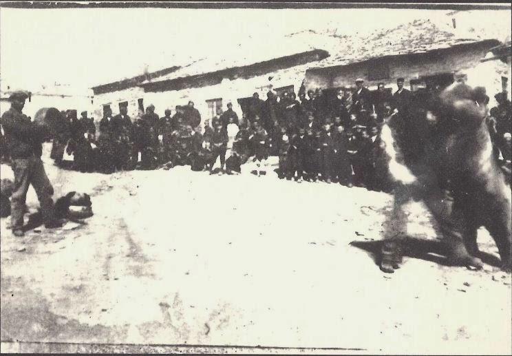 Δεκαετία του '30 στην Κρανιά - Πάλη Κρανιώτη με αρκούδα