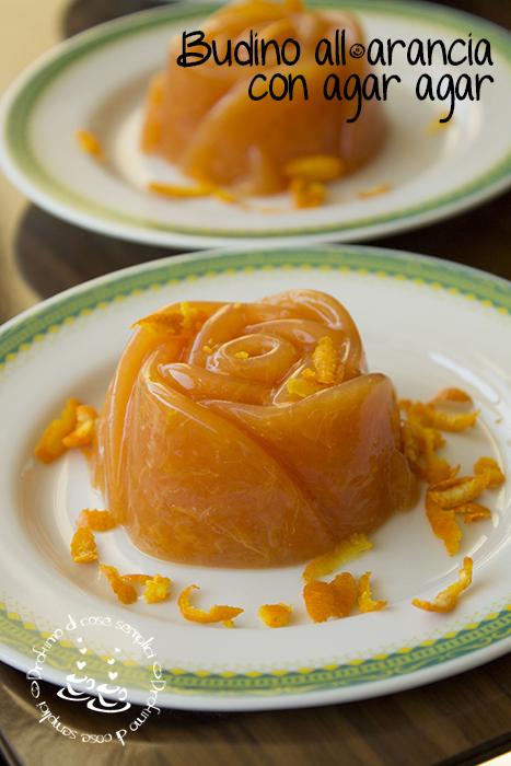 budino all'arancia con agar agar (ricetta vegana)