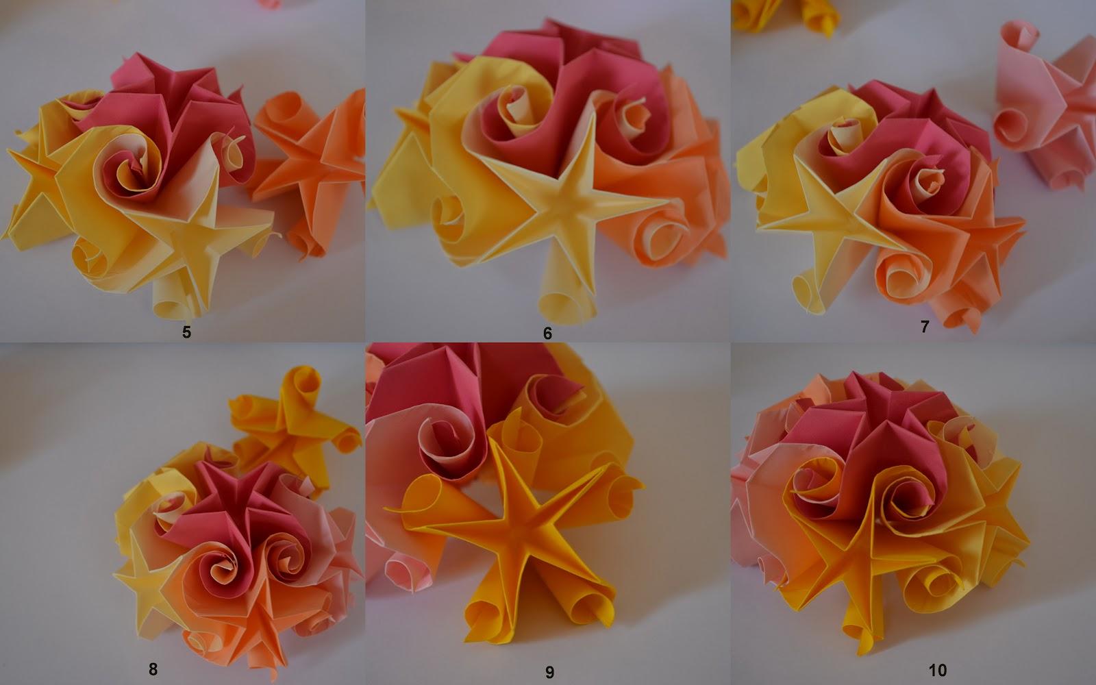 Tutorial Curler Stelute Schema Of Origami Mobile Crane 5 Jumatate Din 6 Module