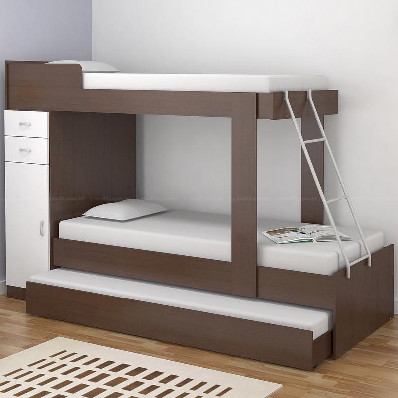 Uma Vida Perfeita Lindos e modernos beliches para seu quarto ~ Quarto Planejado Treliche