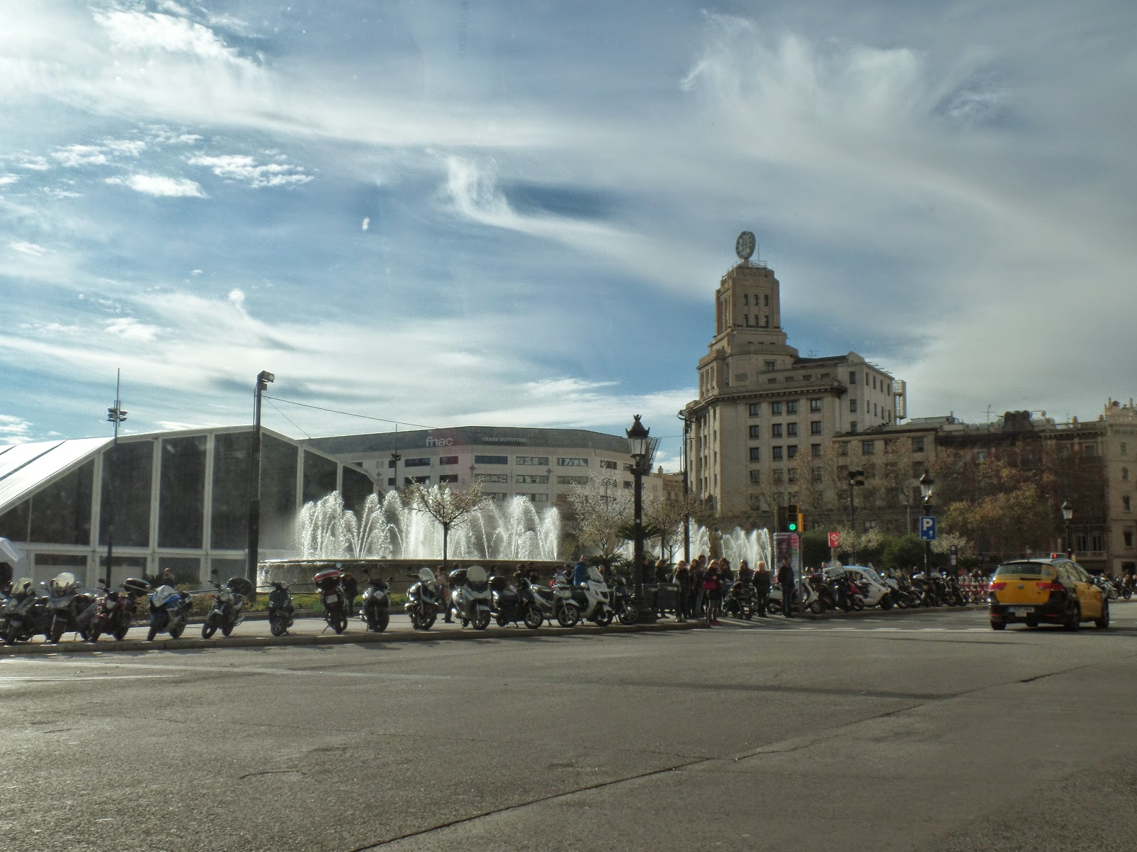 El Blog de María Serralba - Cinco horas en Barcelona