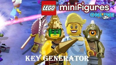 LEGO Minifigures Online Key Generator