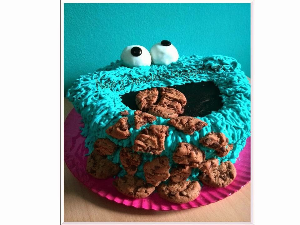 Tarta Monstruo de las galletas