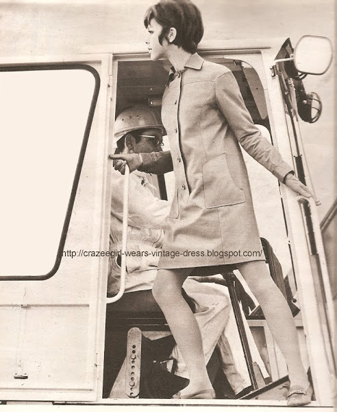 rain dress 1967 60s 1960 Adolphe