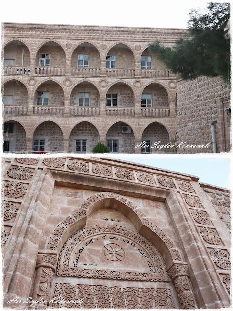 Mor Gabriel Manastırı, içeriden görüntüler