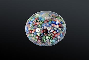 Pisapapeles en cristal frances