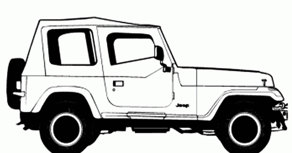 jeep wrangler 2015 coloring pages