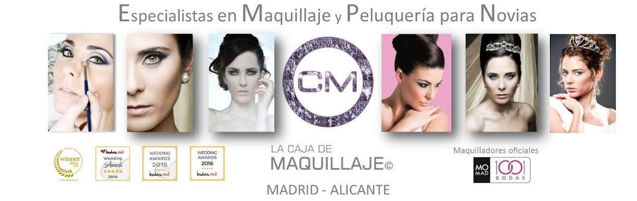 Maquilladores y Estilistas de novias, Madrid y Alicante.