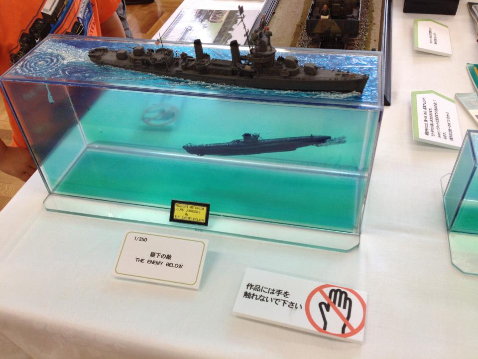 Dioramas enemies and submarines on pinterest for Scale model ideas