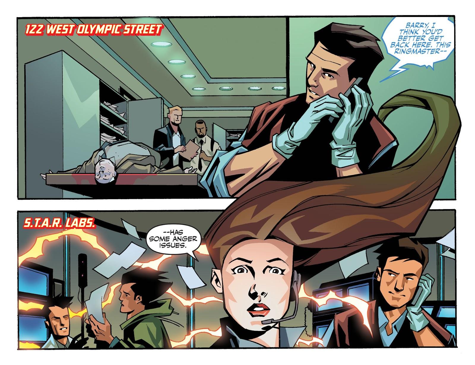 The Flash: Season Zero [I] Issue #4 #4 - English 3