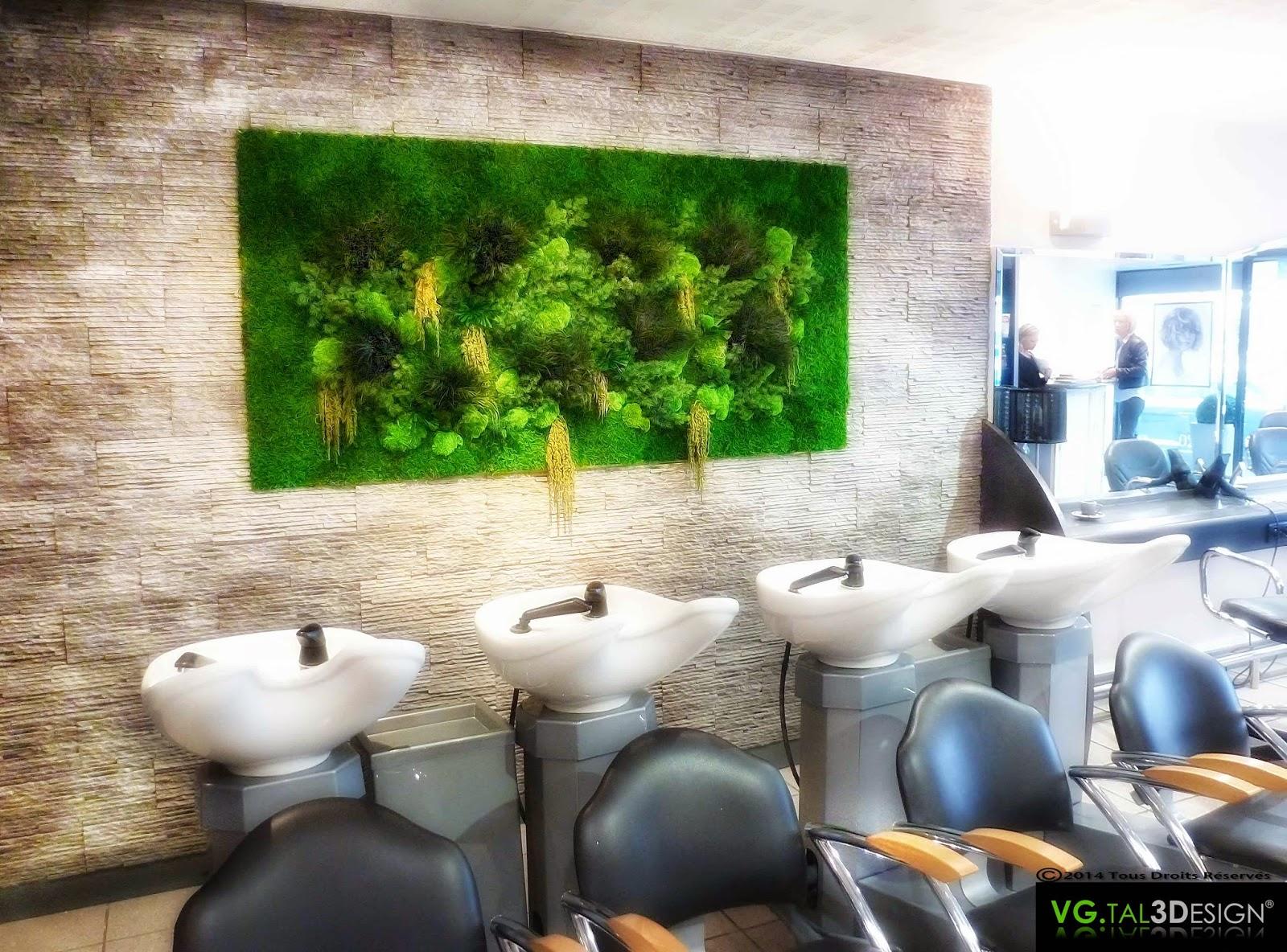 Vgtal3design Fresque V G Tale Pour Un Salon De Coiffure