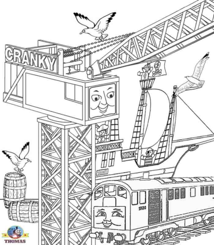 Thomas Amp Friends Colouring Pages And Other Activities - a-k-b.info