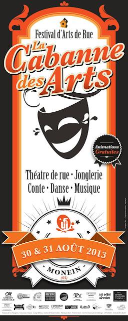 Festival La Cabanne Des Arts 2013 à Monein