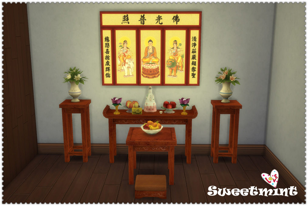 The Life In Shikumen Lanes Furniture And Build Set By SweetMint