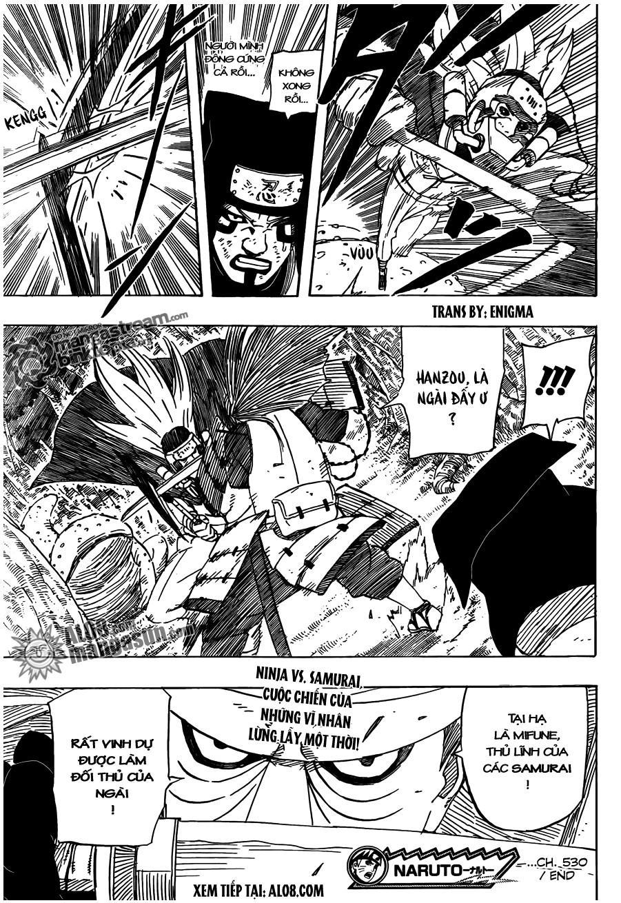 Naruto chap 530 Trang 17 - Mangak.info
