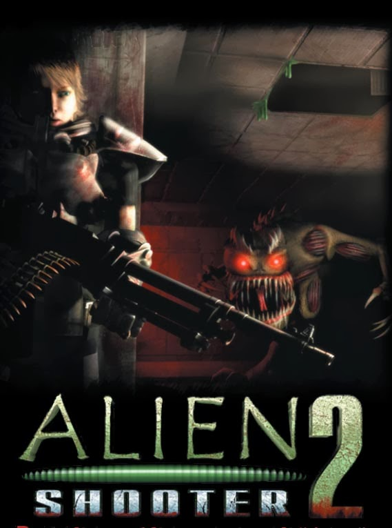 Alien Shooter 2 PC Game Cover