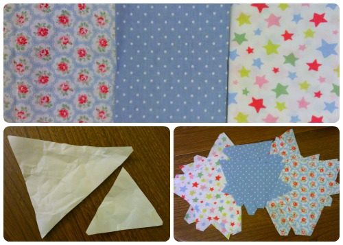craftypainter: Cath Kidston fabric for bunting