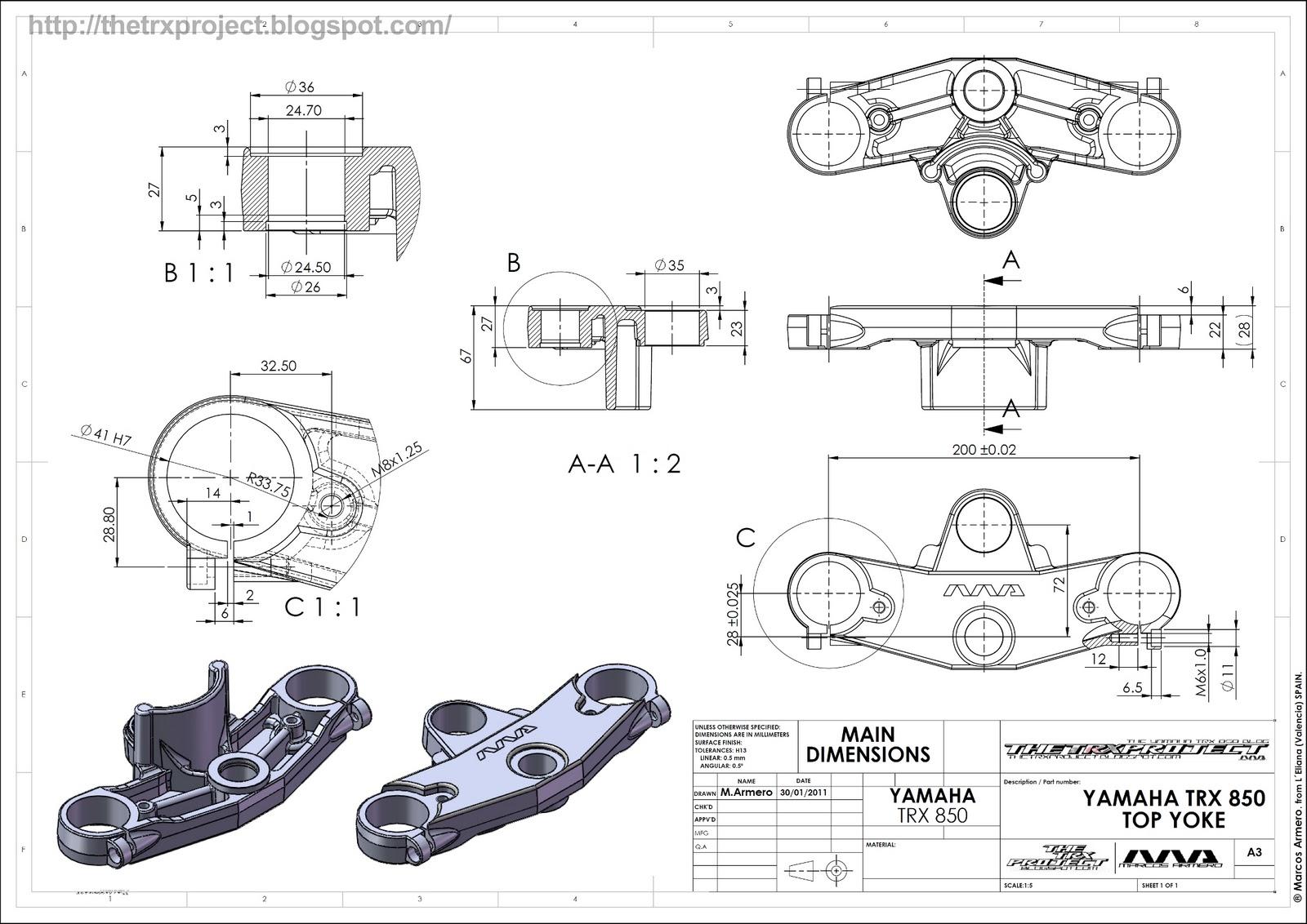 sports garage themed ideas - The TRX Project The Yamaha TRX 850 blog Yamaha TRX 850
