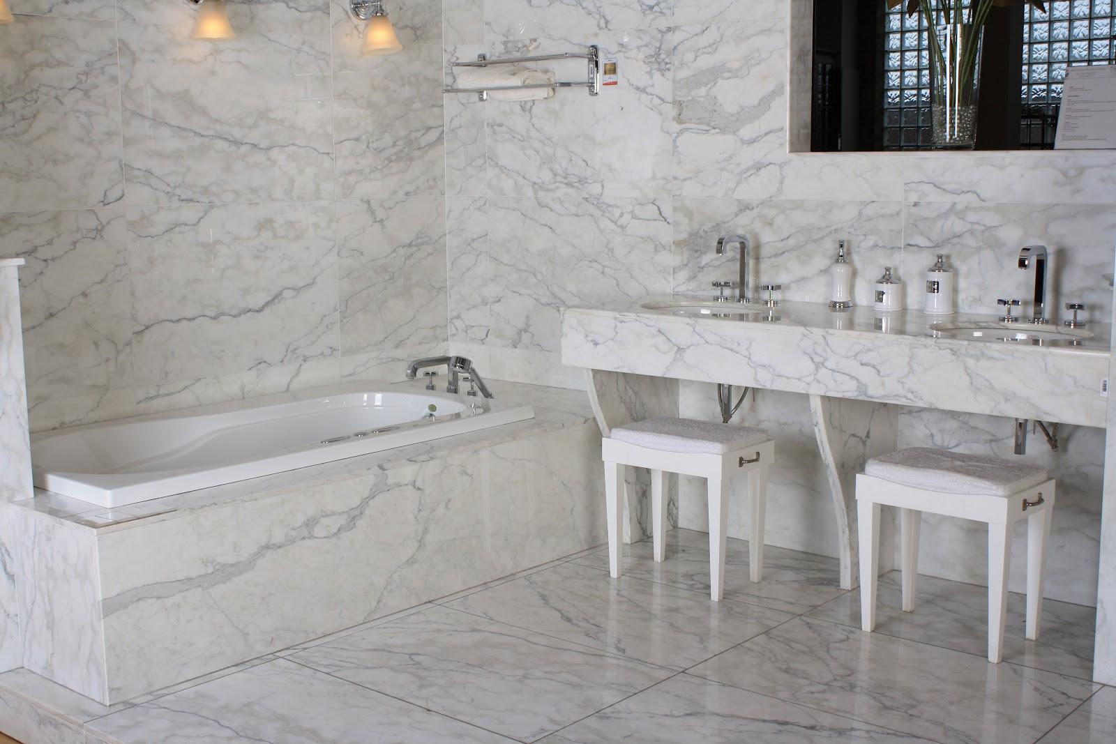 Doğal Mermer Taş Italian Statuario Marble