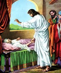 Jesus e a imposição de mãos