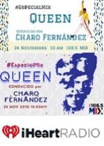 Especial Mix QUEEN/FREDDIEMERCURY con Charo Fernández