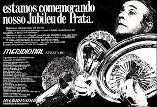 prata Meridional,  os anos 70; propaganda na década de 70; Brazil in the 70s, história anos 70; Oswaldo Hernandez;