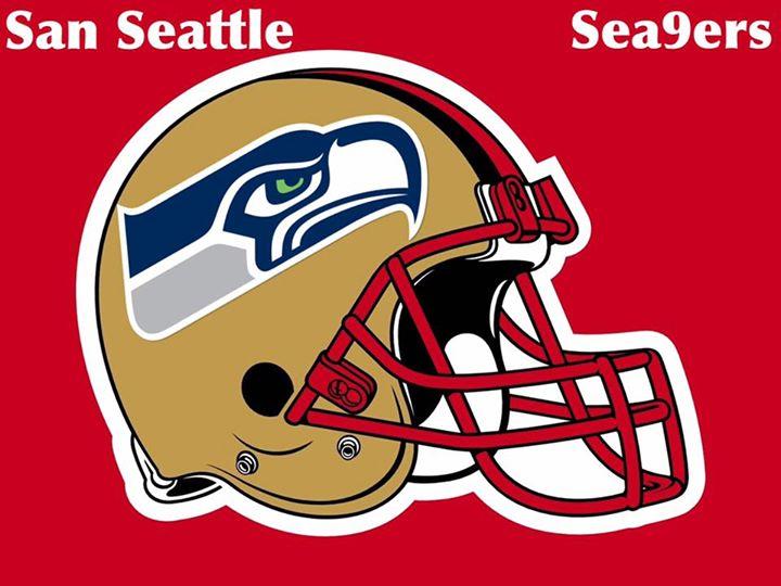 #helmet, #sandiego #seahawkshaters #9ers #nfl #49ers.- san seattle sea9ers