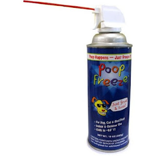 weird stuff on amazon - poop freeze spray