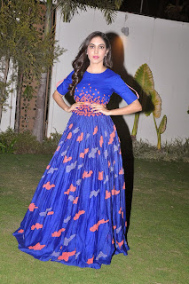 Actress Ritu Varma Picture Gallery in Long Dress at Yevade Sumanyam Audio Launch  14